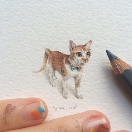 Tiny-potluck-100-paintings-ants-lorraine-loots-10