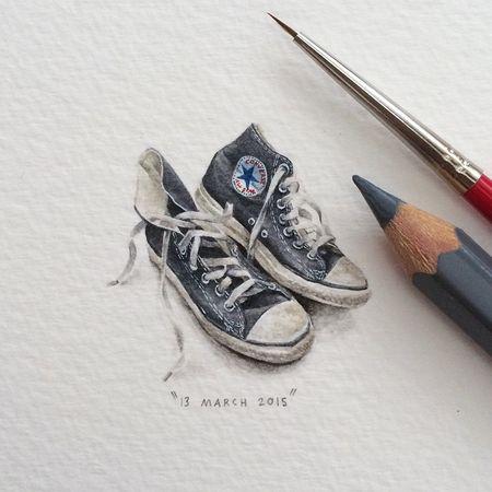 Tiny-potluck-100-paintings-ants-lorraine-loots-6