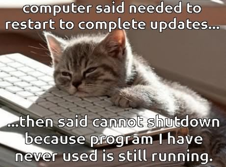 Computer-Said-Needed-To-Restart-To-Complete-Updates-Funny-Computer-Meme-Picture