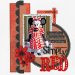 Simply-red Scrapbook Minnie mouse