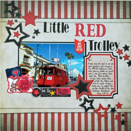 Little-red-trolley