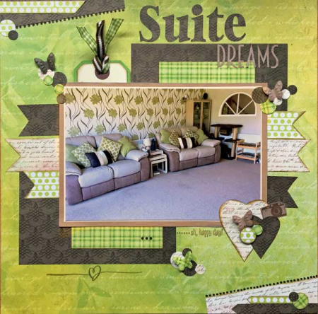 Suite dreams Scrapbook