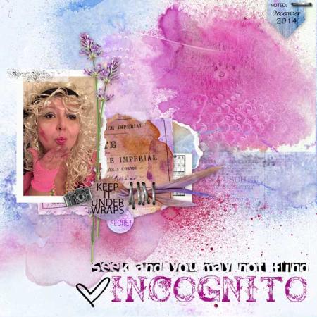 Incognito-scrapbook