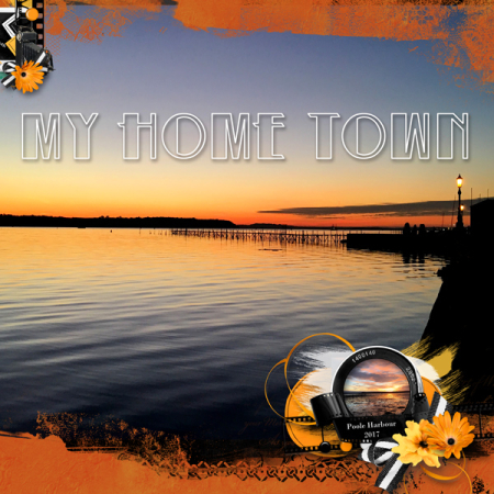 Home-town-sunset