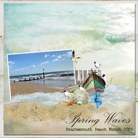Spring-waves