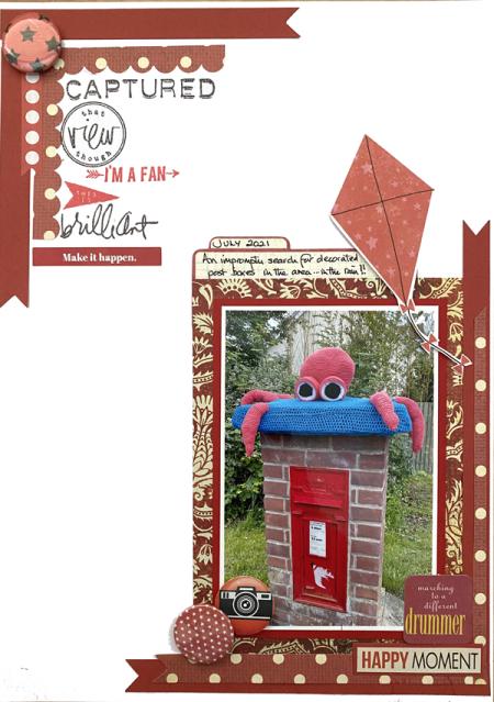 Monchrome-postbox