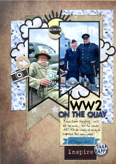 WW2 on the quay
