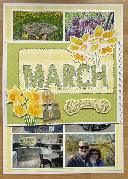 March-outside