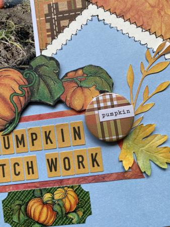 Pumpkin patchwork