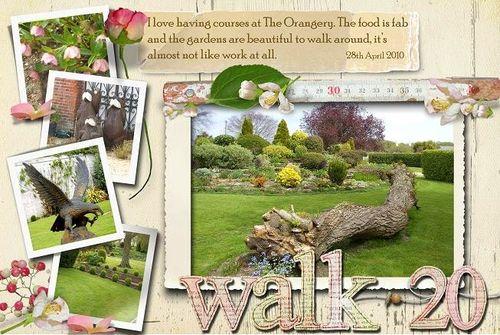 20 walk