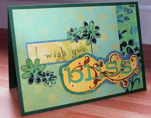 Bliss card