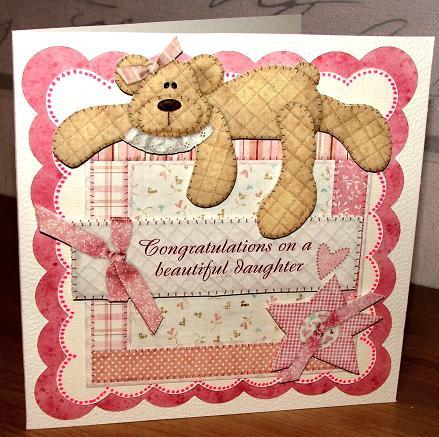 Sam baby card
