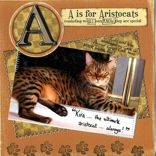 A is for aristocats Jan 11