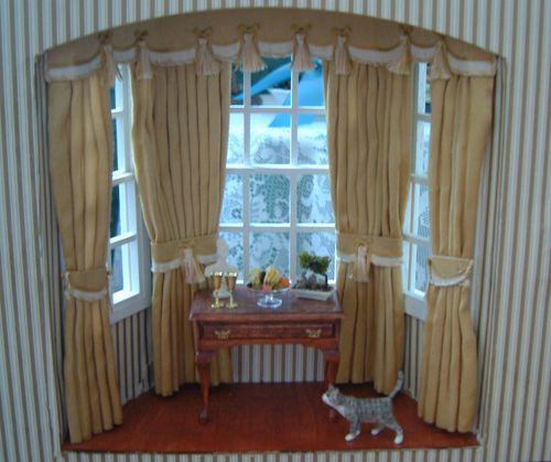 D curtains bay natural