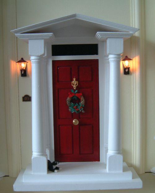 Front door xmas 1