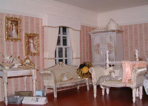 Pink bedroom and floor