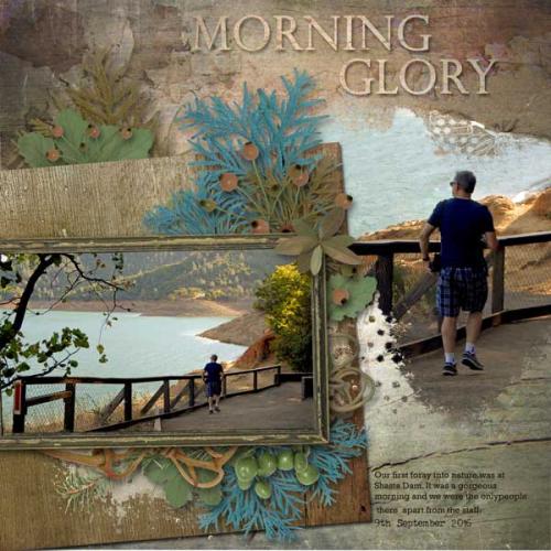 Morning-Glory scrapbook