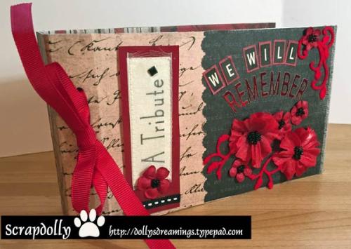Poppies-mini-book