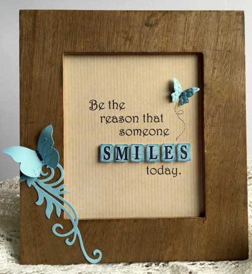 Smiles frame