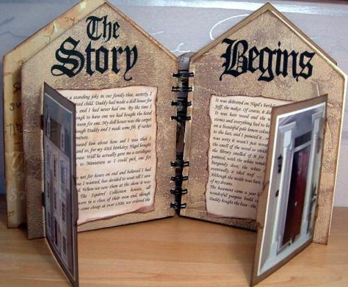 Story begins inside