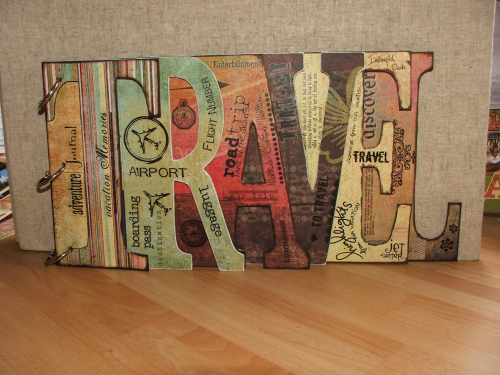 Travel book cover