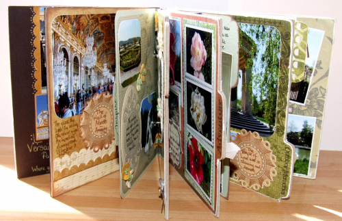 Versailles book pages