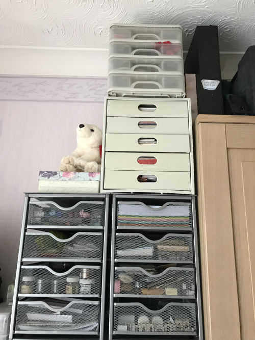 Drawers top